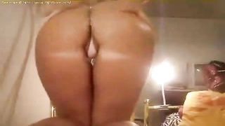 My hot ex girlfriend stripping on webcam and bending over Thumb