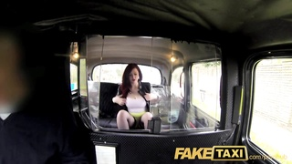 FakeTaxi Knickerless slut agrees to backseat sex Thumb