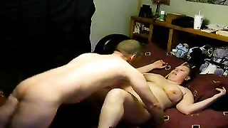 Camera catches chubby wife getting pounded Thumb