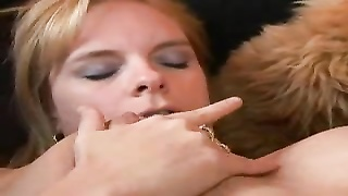 Horny housewife filled with dick Thumb