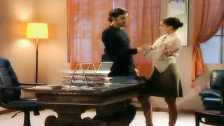 Elegant wife cheats in the office Thumb
