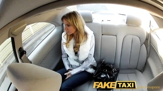FakeTaxi Young Euro girl penetrated by huge cock under bridge in public Thumb