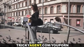 Tricky Agent - Creampied by tricky porn agent Thumb