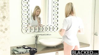 BLACKED Teen Tysen Rich Stretched by Big Black Dick Thumb