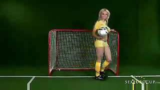 Swedish soccer babe Thumb