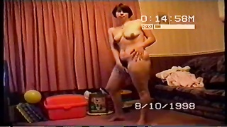 Drunk wife getting naked for her husbands friends Thumb