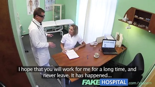 FakeHospital Hot nurse rims her way to a raise Thumb