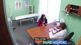 FakeHospital Sexy patients moans of pleasure lowersblood pressure problem Thumb