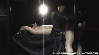 Adult Theater Creampie Gangbang with Hot Slutwife Thumb