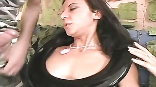 Stupid whore gets her throat fucked DTD Thumb