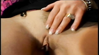 Sharka Blue rubs her amazing tits and fingers her wet pussy Thumb