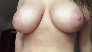 19yr old Michelle flashing 36G boobs Thumb