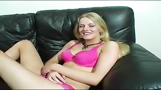 Cute British Babe In Double Casting Thumb
