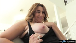 Busty 1st Time Amateur CASTED: POV Thumb
