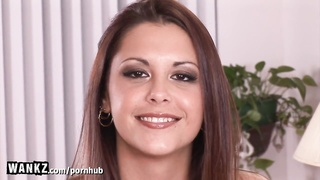 WANKZ - Tight Teen Gets Fucked Hard For Her First Time on Camera! Thumb