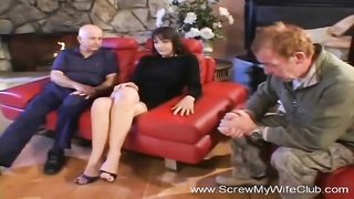 Hubby Not Liking His Wife Fucking a Stranger Thumb