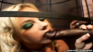 Blonde Bree Olson slave for sex Thumb