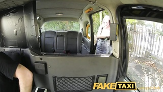 FakeTaxi Student likes to suck cock for cash Thumb