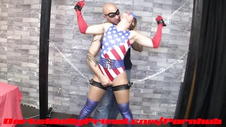 American Avenger - Power Siphon from Darkside by Primal Superheroine Thumb