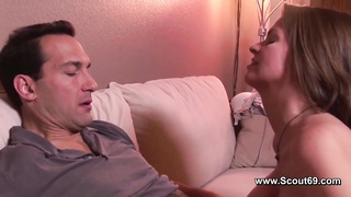 Milf with beauty lingerie fuck with big dick without condom Thumb