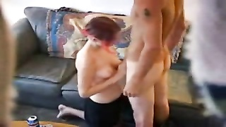Hidden cam spying on couple having a session Thumb