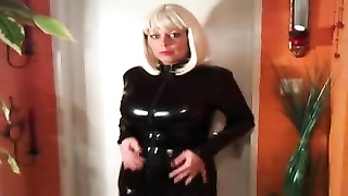 milf in rubber catsuit and pvc boots Thumb