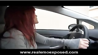 Mariah Mars Gives Herself A Ride Thumb
