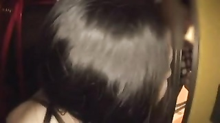 Latina Girl having a great time with two Japanese men! Thumb