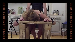 At the Bench-Little Sunshine MILF Fucked, Spanked and Pluged Thumb