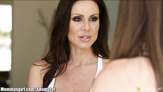 Kendra Lust Scissors Riley Reid at Yoga Class Thumb