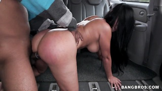Big Colombian ass gets fucked in our bus Thumb
