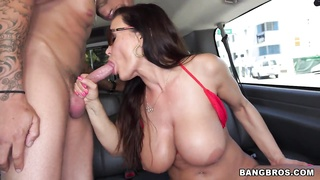 Pornstar Lisa Ann on the BangBus Thumb