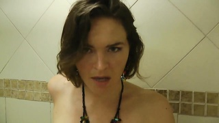 Catching your slutty Step sister in the shower HD Thumb