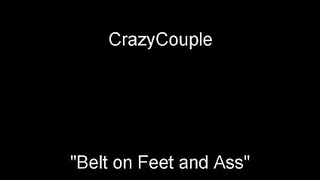 Crazy husband belt whipping feet and ass your lol wife. Thumb