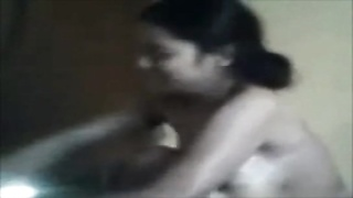 Desi Cute Bhabhi bathing and wearing clothes Thumb
