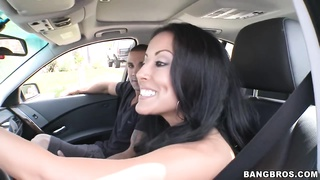 Hot MILF Kiara Marie on a cock Thumb