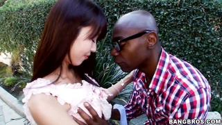 Hot asian Marica Hase has an interracial sex Thumb