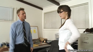Holly convinces him by sucking his good cock Thumb