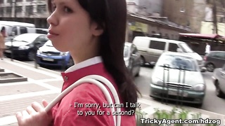 Pursuing a dream, a girl gets fucked by an Agent! Thumb