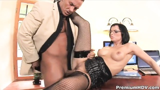 Sexy secretary Renata Black gets her ass fucked Thumb