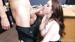 Johnny Sins gets sucked by heavy chested Tessa Lane Thumb