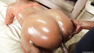 Sydney Capri rides her wet slot on a massive prick Thumb