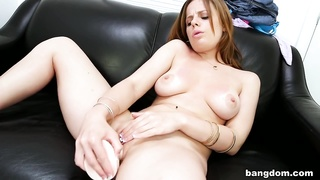 Amateur Gets A Fat Dick In Her Tight Pussy Thumb