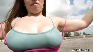 Tits On The Rooftop Thumb