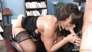 Danny Mountain gets pleasured by horny Lisa Ann Thumb