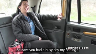 British babe gets tight ass banged in fake taxi Thumb