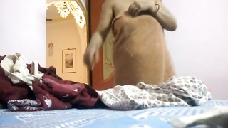 Indian Desi Aunty changing clothes Hidden cam Thumb