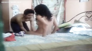 Indian College Lovers hard fuck at home Thumb