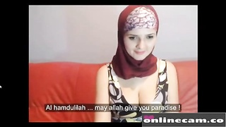 Divine Hijab Camgirl Boobs Muslim Women are Best: Free HD Porn a1 webcam sex - Live on tootie.online Thumb