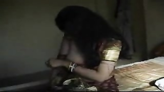 Kama Sutra Babe - Homemade Indian Babe takes Off Her Sari Gets Fucked Thumb